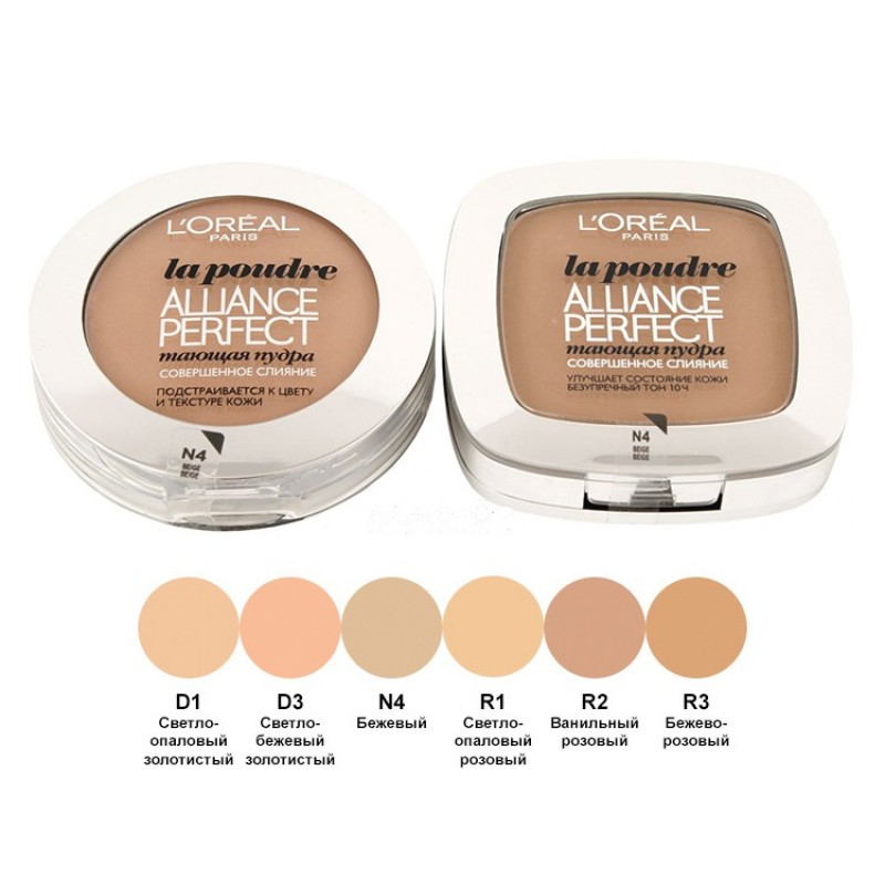 Пудра для лица L.oreal Alliance Perfect Compact Powder № D1